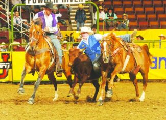 2017 Wrangler National Finals Rodeo Results – Round 7
