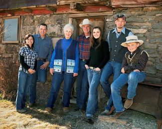 Two members of the Hammond family, pictured left to right Earlyna, Steven, Susan, Dwight, Claire, Corbin and Emery, reported to prison Monday for setting fires to federal grazing lands. Dwight and Steven Hammond were originally convicted three years ago for setting fires in 2001 and 2006, according to the Associated Press, but after serving their original sentences, were sent back to prison because of a ruling in an appeals court. Their case sparked the latest outcry against government-held public lands, and a group of militia protesters took over a plot of land at Malheur National Wildlife Refuge near Burns, Ore., about 300 miles from Portland.