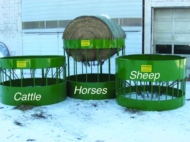 The Hay Manager Local Innovation Makes Bale Feeders More