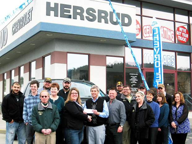 hersruds of sturgis contributes 5 600 to rancher relief fund tsln com rancher relief fund tsln