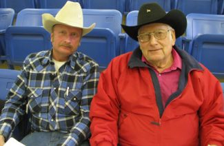 Bob Kahl of Solon, ND and Orville Bail of Morristown, SD