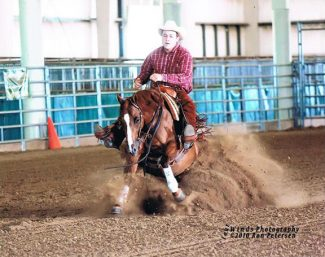Courtesy photoSince the age of 12, Dean Johnson has developed his horse riding and training skills, developing a performance horse business in Vale, SD.