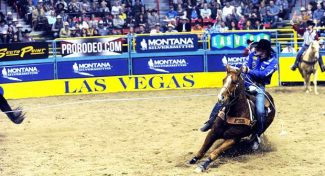 2017 Wrangler National Finals Rodeo Results – Round 6