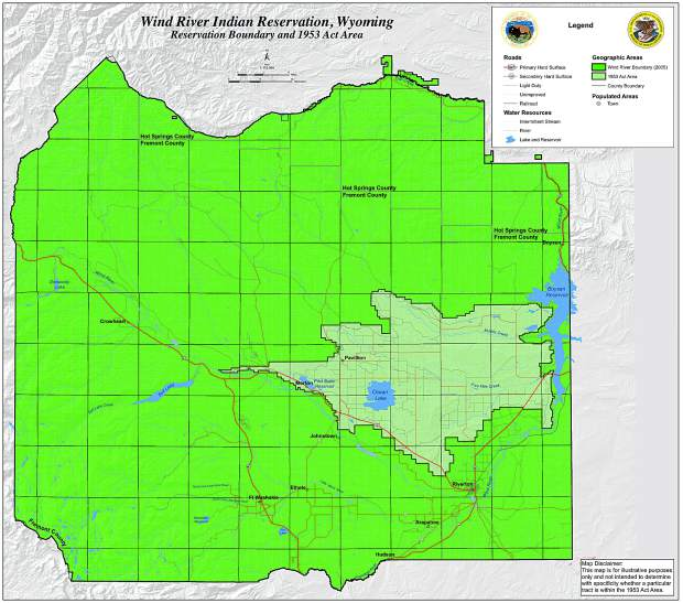 Wind River Woes EPA Involvement In Reservation Issues