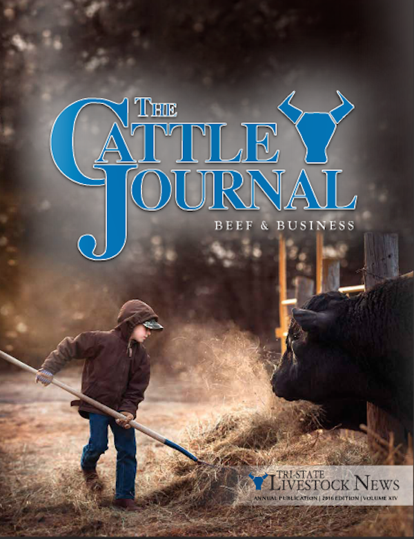 Winter Cattle Journal 2016