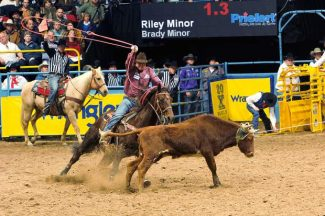 2017 Wrangler National Finals Rodeo Results – Round 2