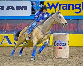 2017 Wrangler National Finals Rodeo Results – Round 4