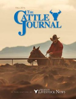 Fall Cattle Journal 2016