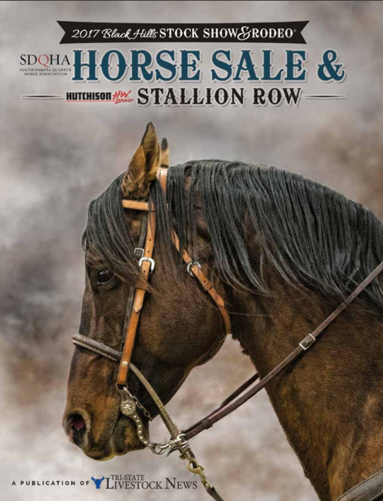 2017 Black Hills Stock Show 174 Horse Sale Catalog And