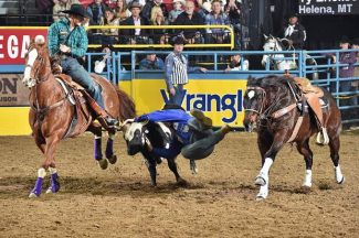 2017 Wrangler National Finals Rodeo Results – Round 3