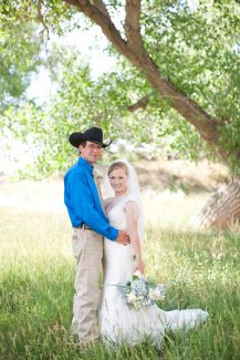 Charles and Heather Maude wedding picture