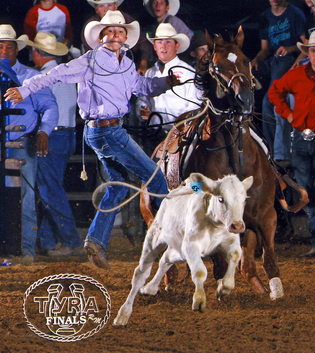 Sutton's RWS Pobres Allusive was the high point Texas Junior High School Rodeo calf horse and champion at the Joe Beaver Invitational Roping.