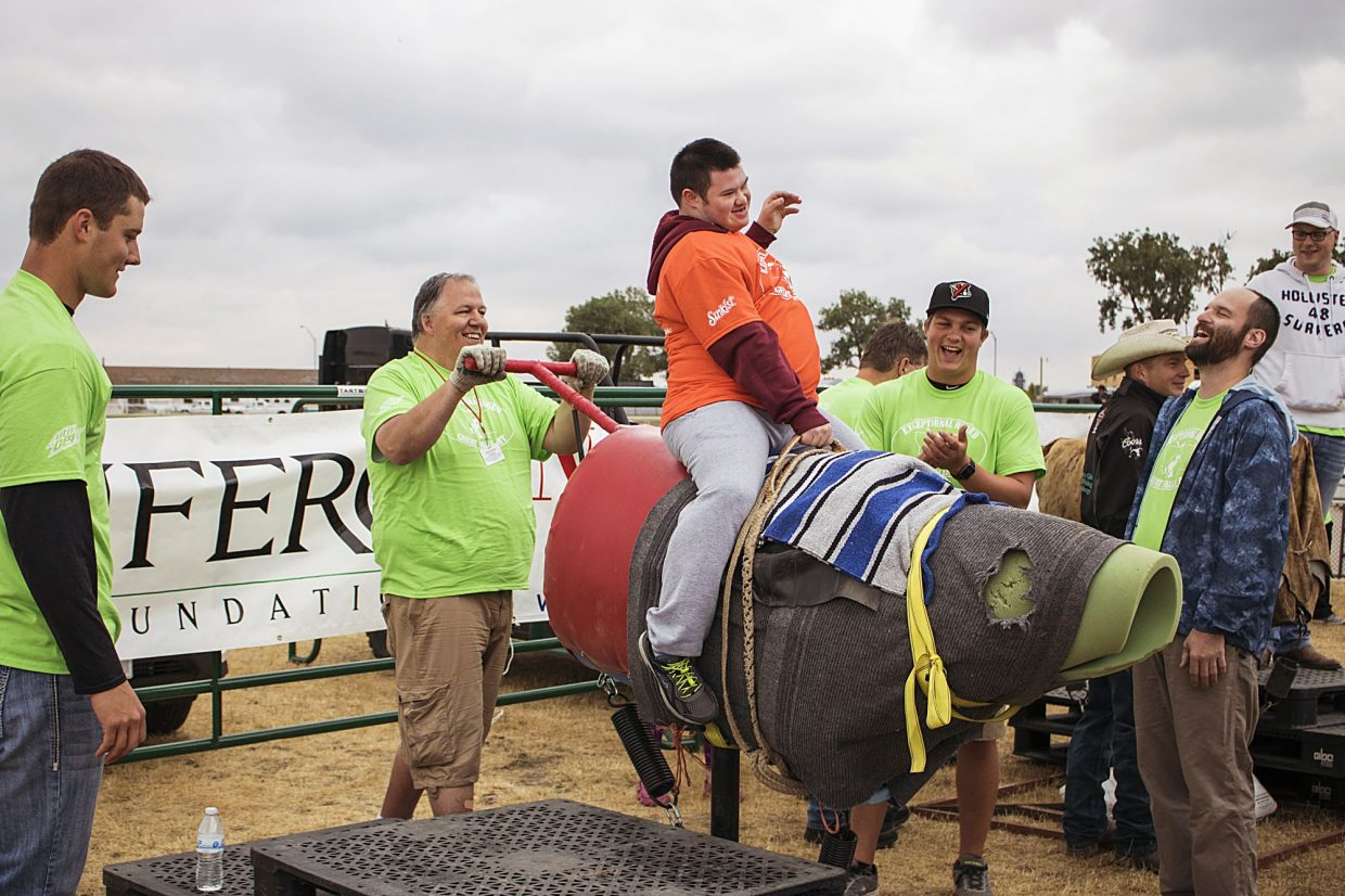 Volunteers are looking forward to the NILE's Radiant Rodeo, an activity to give special needs individuals the chance to take part in rodeo and stock show events. Courtesy photo