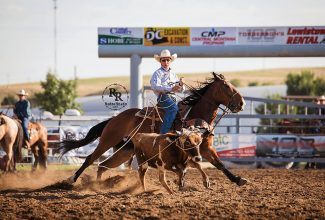 Meged's Moment: Young Montana cowboy stays hot on the rodeo trail, hoping for a win at the American