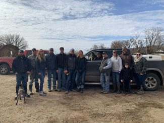 College student trades spring break for disaster relief