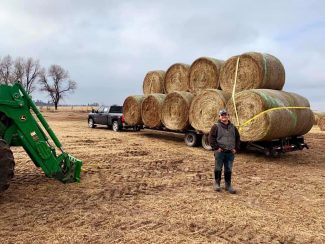 Hay! Donations coming to Nebraska from all around the country