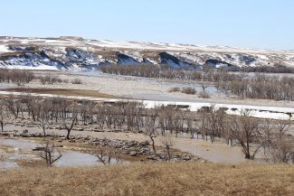 Over its banks: The White River in South Dakota Floods