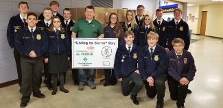 FFA members package 50,580 meals during Living to Serve Day