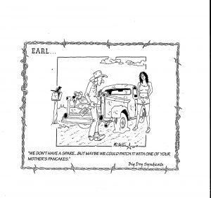 Earl cartoon by Big Dry Syndicate