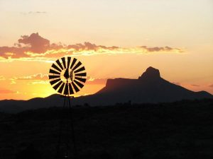 Pastor in the Pasture: Windmills and Water