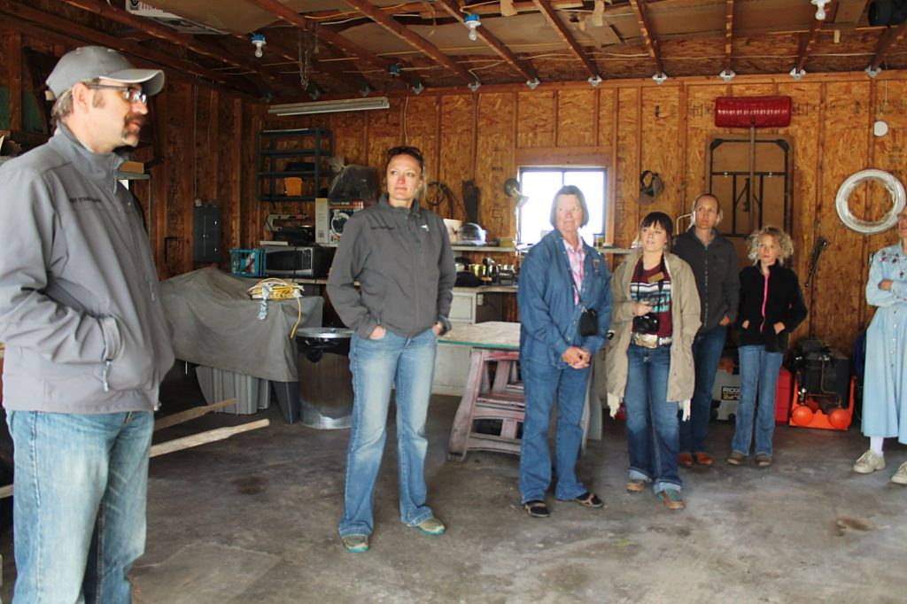 Ag tour  encourages  diversifying  operations