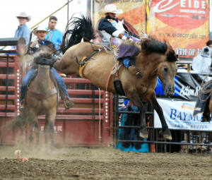 Routier, Schmidt, Engesser, Kraeger lead events after first day of Mandan Rodeo Days