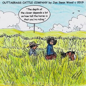 Outtagrass Cattle Co. by Jan Swan Wood